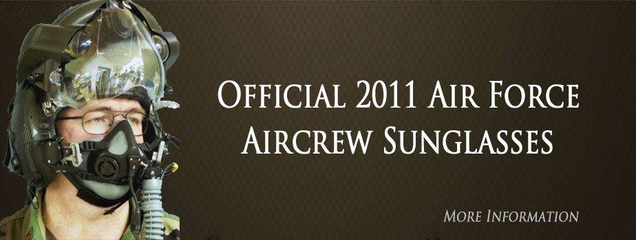 Official 2011 Air Force Aircrew Sunglasses